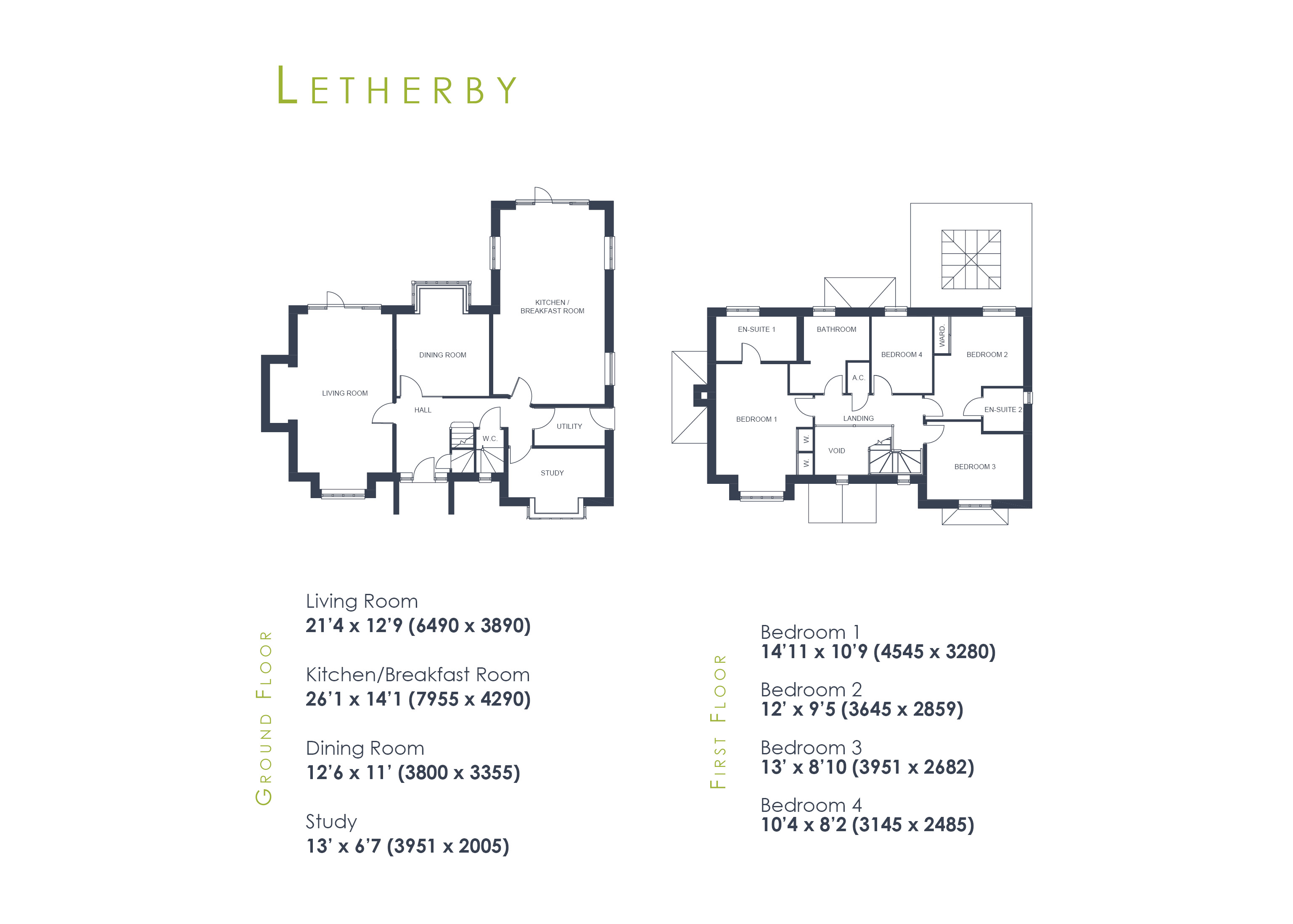 Letherby Floor Plan