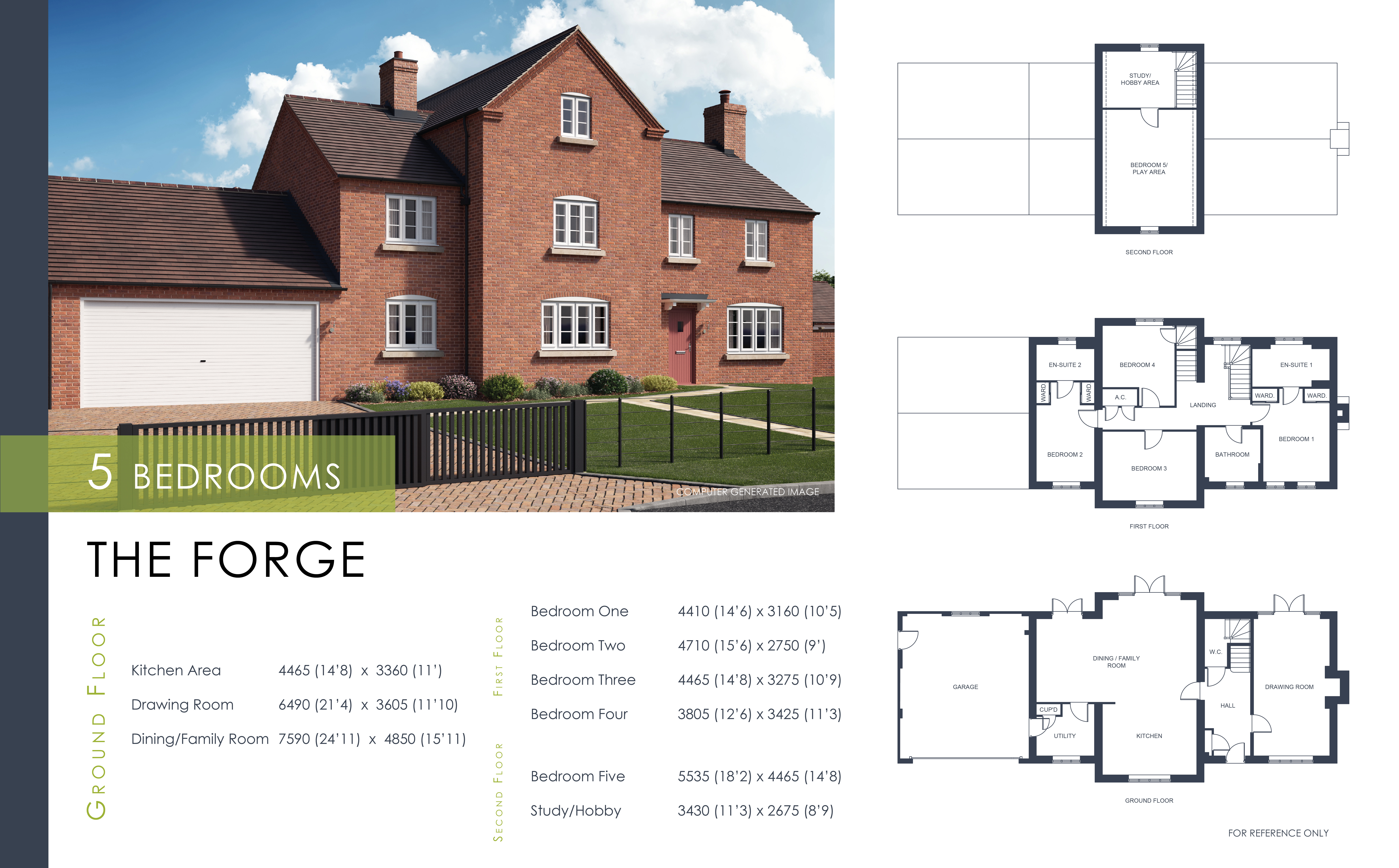 The Forge Floor Plan Shropshire Homes