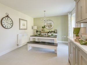 Grasmere Show Home - kitchen/dining