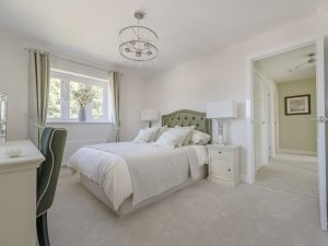 Grasmere Show Home - bedroom