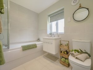 Grasmere Show Home - bathroom