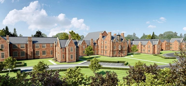 Leighton Park Shrewsbury Shropshire Homes